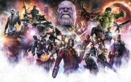 Avengers Infinity War fotobehang Final Round