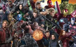 Avengers Infinity War fotobehang Allstars