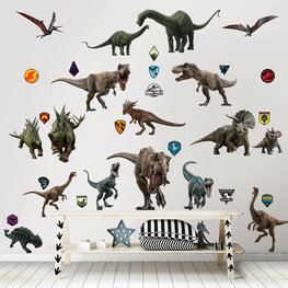 Jurassic World muurstickers WT