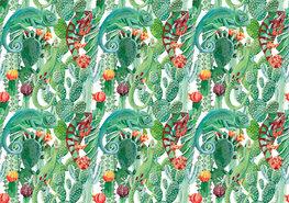 Kameleon fotobehang