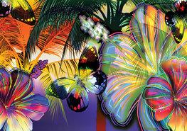 Vlinder fotobehang