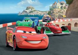 Disney Cars fotobehang Race L