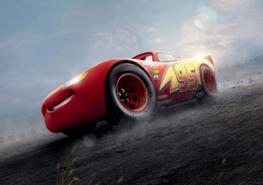 Cars 3 fotobehang Bliksem McQueen 95