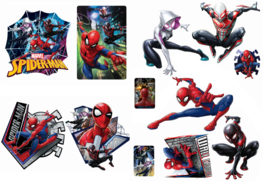 Spiderman muurstickers Friends L