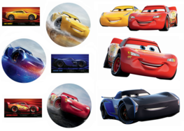 Cars muurstickers Cars 3 L NW