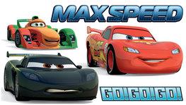 Cars muurstickers XXL Max Speed