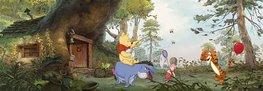 Winnie the Pooh fotobehang - Pooh´s huis