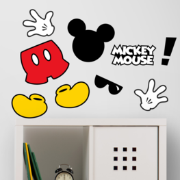 Mickey Mouse muurstickers Flock