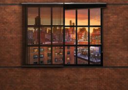Industrieel fotobehang Brooklyn Brick
