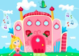 Prinsessen behang Kasteel