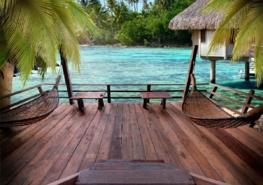 Strand fotobehang Summer Rest