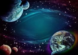 Space fotobehang Fantasy