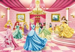 Disney Princess behang Ballroom XL
