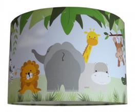 Jungle dieren kinderlamp