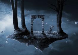 Fantasy Gate fotobehang