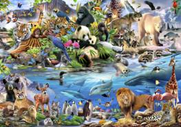 Dieren behang Wildlife
