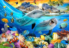 Onderwater behang Dolfijnen 2