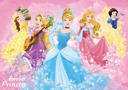 Disney Princess fotobehang Forever