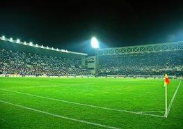 Voetbal Stadion 3 vliesbehang XL