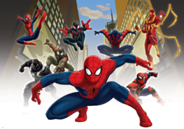 Spiderman behang Web-Warriors