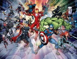 Marvel Avengers behang - WT