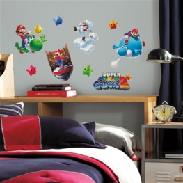 Super Mario muurstickers Galaxy 2