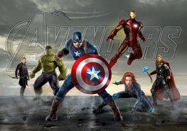 Avengers fotobehang Capt. America