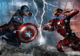 Captain America fotobehang Civil War