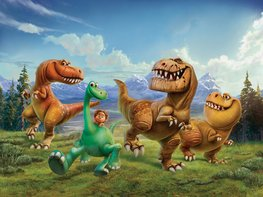 The Good Dinosaur vlies fotobehang XL