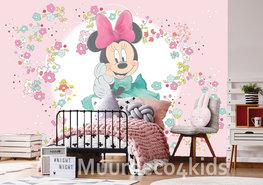 Minnie Mouse behang Little Flower XL
