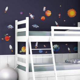 Ruimtevaart muurstickers Outer Space