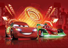 Cars VLIES fotobehang NEON XXXL