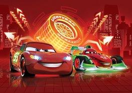 Cars VLIES fotobehang XXL NEON