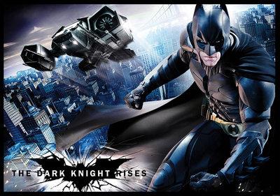 Batman fotobehang The Dark Night Rises