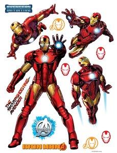 Avengers Iron Man muurstickers XL