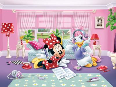 Minnie Mouse fotobehang XL