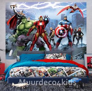 Avengers behang L