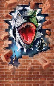 Dinosaurus behangposter T-Rex WT