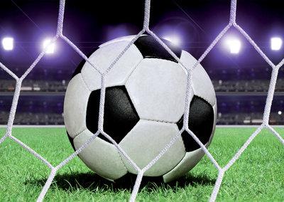 Fonkelnieuw Voetbal vloerkleed 60cm rond € 19,95 | Muurdeco4kids XG-68