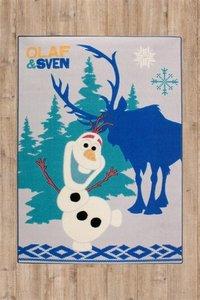 Frozen vloerkleedje Olaf en Sven