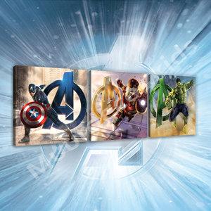 Avengers canvas 3 delige set A