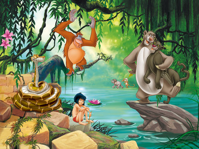 Jungle Book fotobehang XL