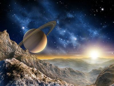 Behang Kinderkamer Ruimtevaart : Heelal fotobehang voor liefhebbers van ruimtevaart