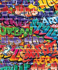 338758639 - Graffiti Behang