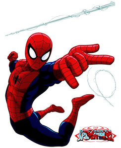 Spiderman muursticker XL