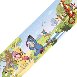 Winnie the Pooh behangrand