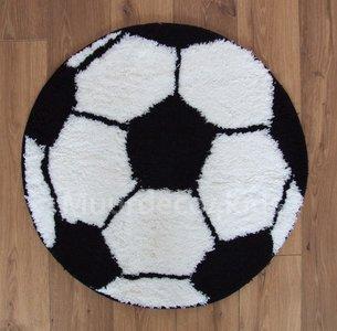 Beste Voetbal vloerkleed 60cm rond € 19,95 | Muurdeco4kids LR-48