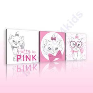 Disney Marie canvas 3-delige set Pink