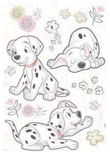 Best of Friends Dalmatiers stickers
