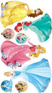 Disney Princess muurstickers XXL